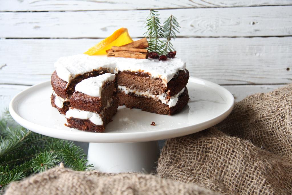 Tort piernikowy (bez glutenu, nabiału, zbóż i jaj)